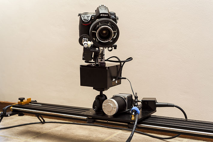 4 Axis Motion Control