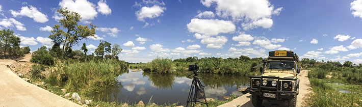 Shooting timelapse at Londolozi Game Reserve